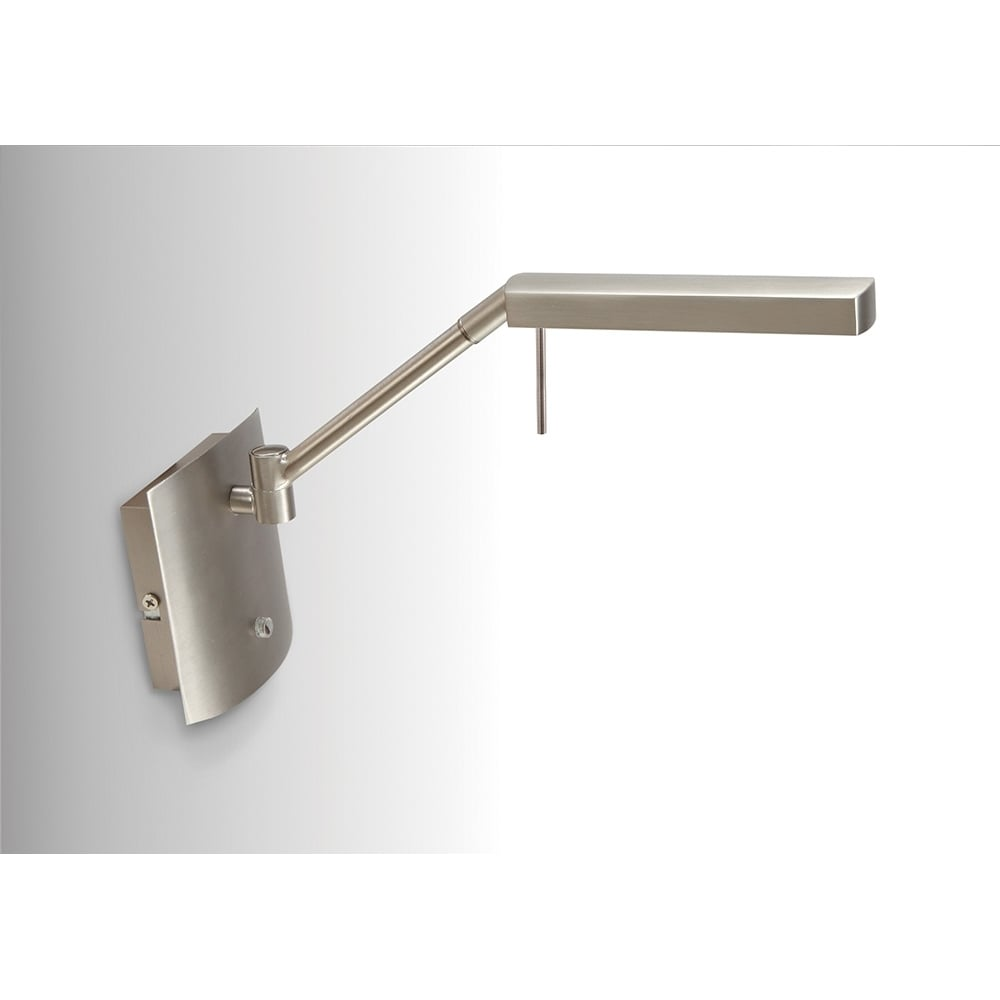 Aplica Perete Led Satin Nickel