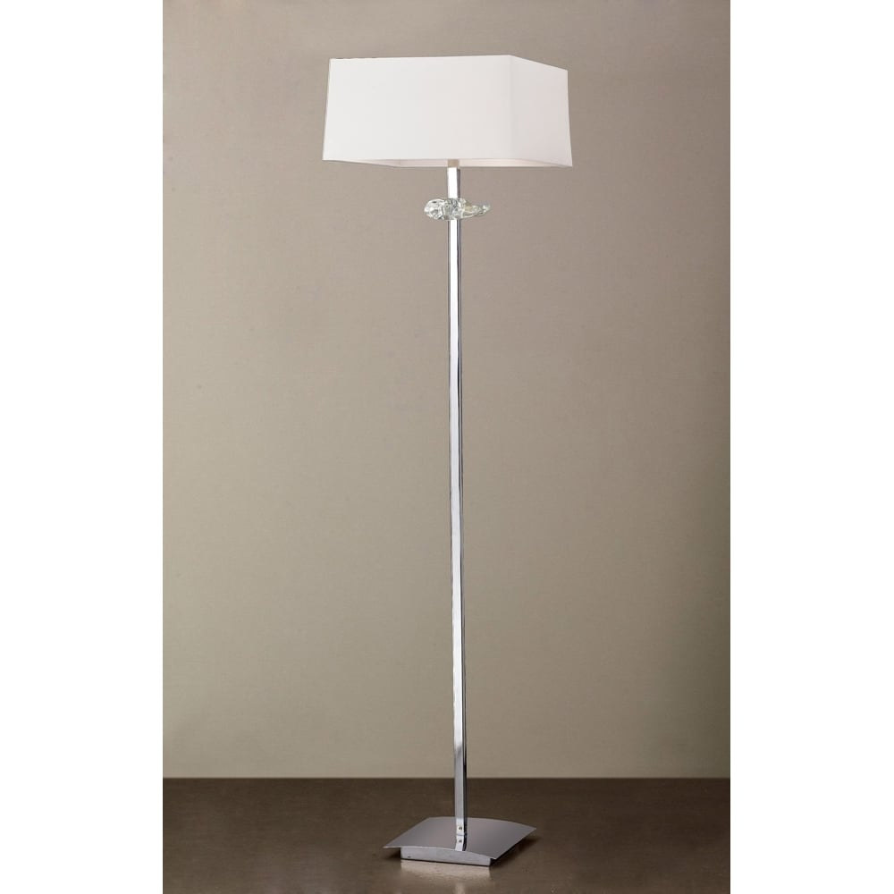 Lampadar Crom Podea Light