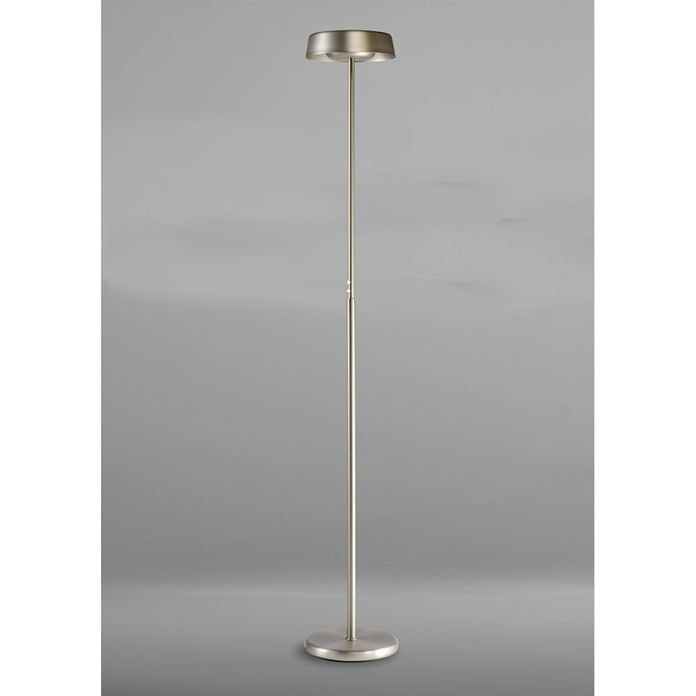 Lampadar Led Satin Nickel