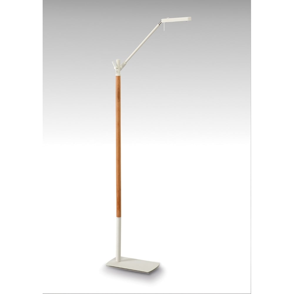 Lampadar Led Matt Alb