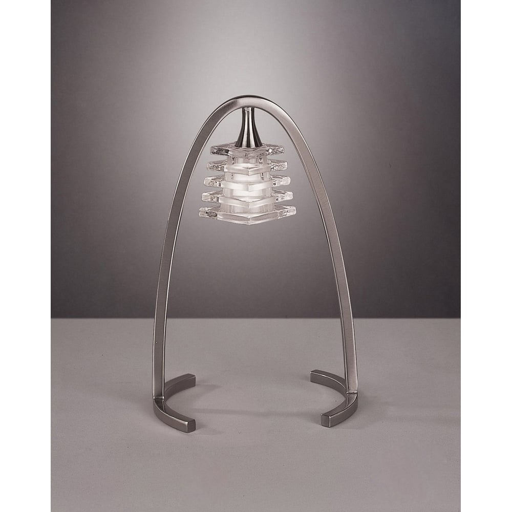 Lampa Birou Satin Nickel
