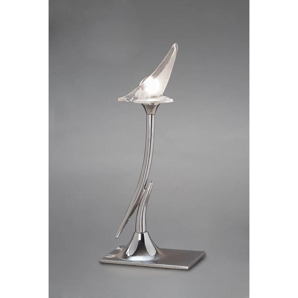 Lampa Birou Single Crom