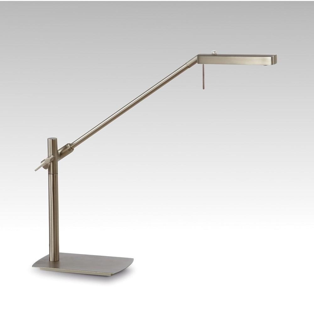 Lampa Birou Led Satin Nickel