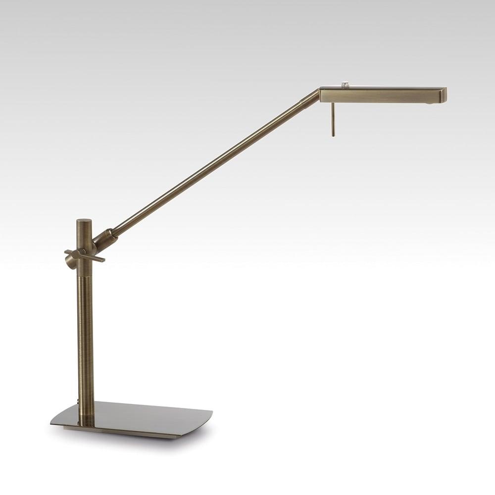 Lampa Birou Led Antic Cupru