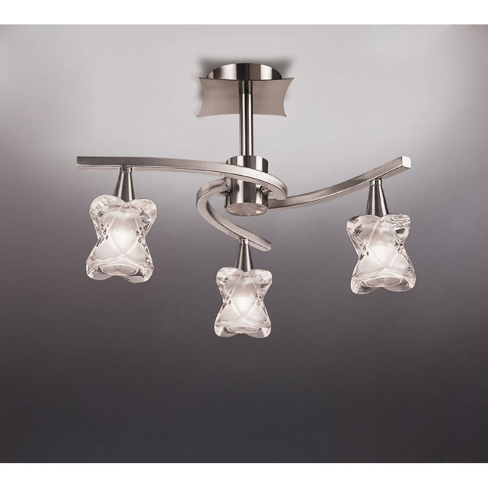 Plafoniera Nickel Light