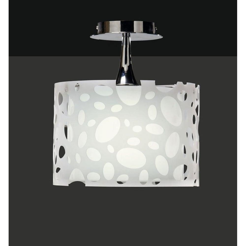 Plafoniera Semi Plafon Light