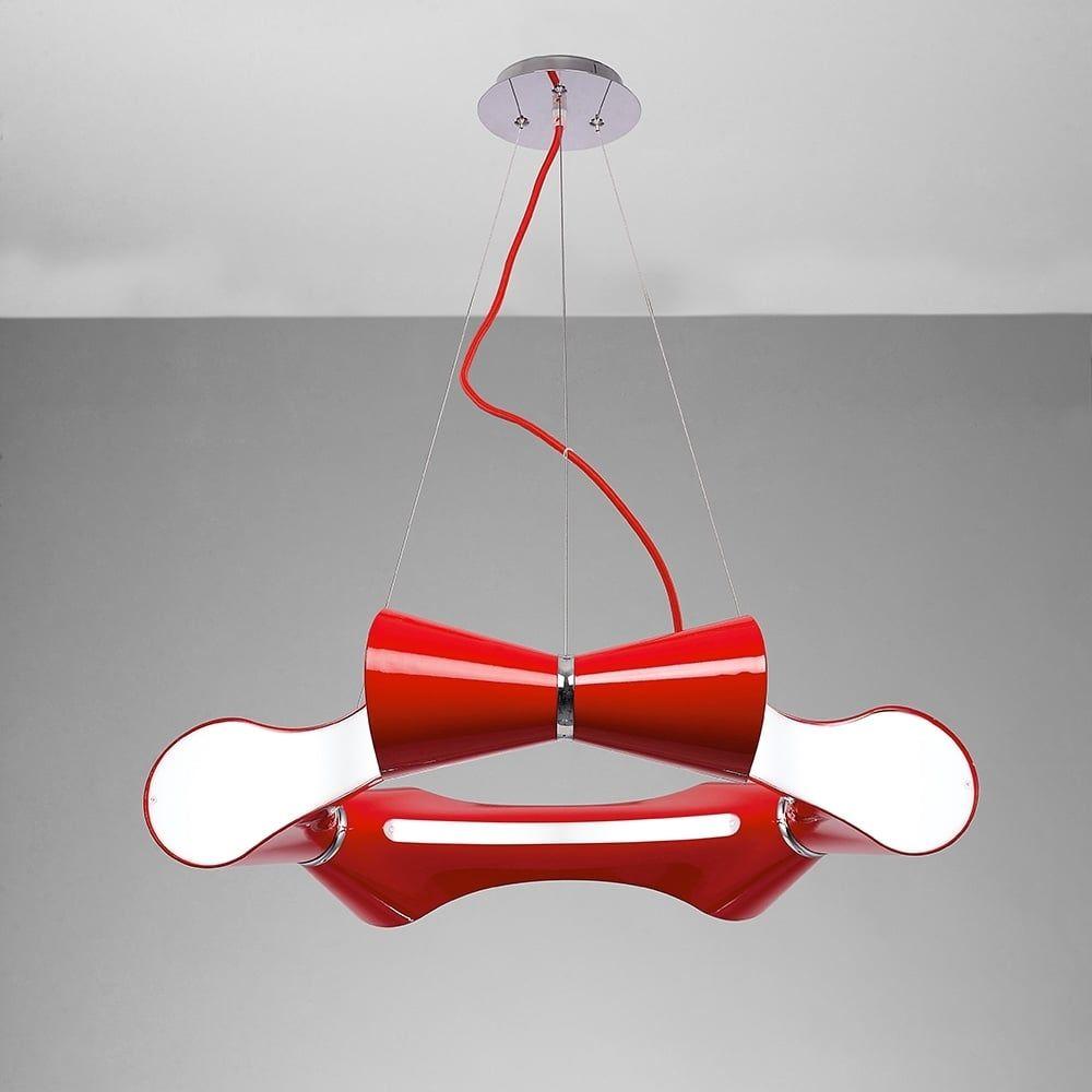 Plafoniera Rotund Crom Red