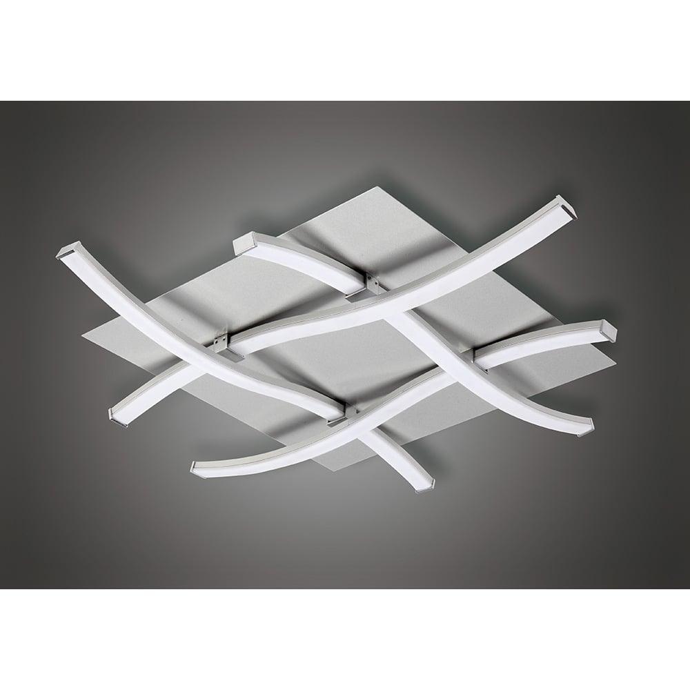 Plafoniera Plafon Led Argintiu