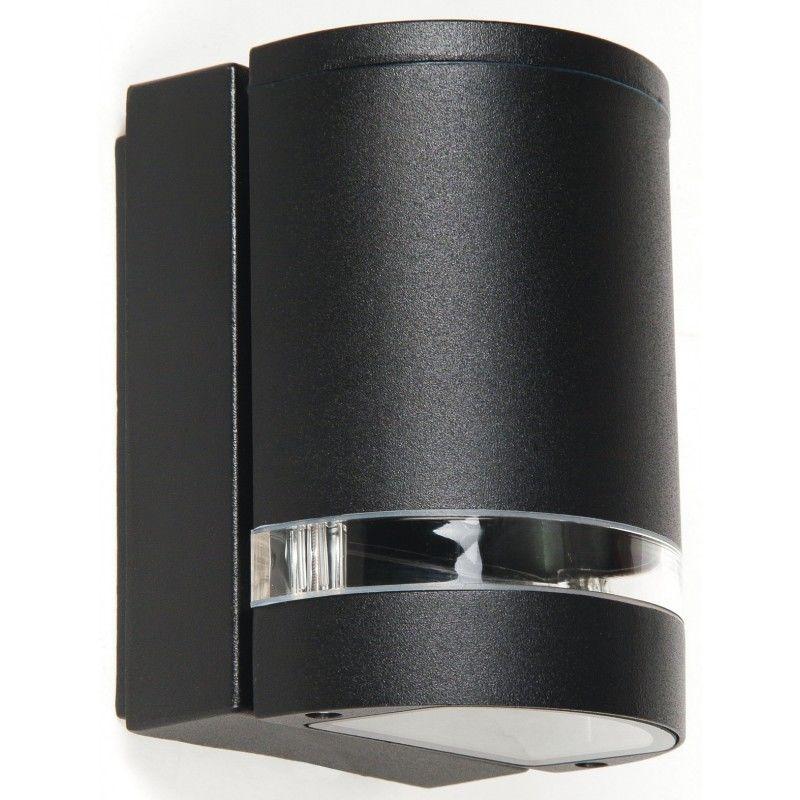Aplica Negru Negru Aluminiu Impermeabile