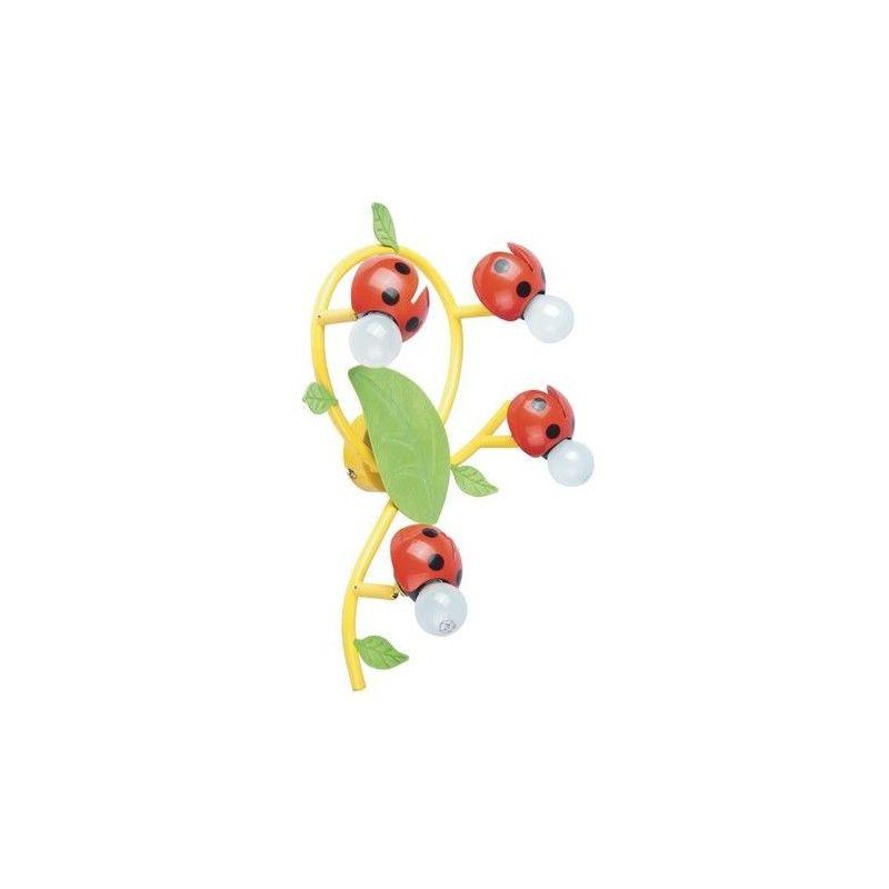 Plafoniera Coccinelle Cameretta Coccinella