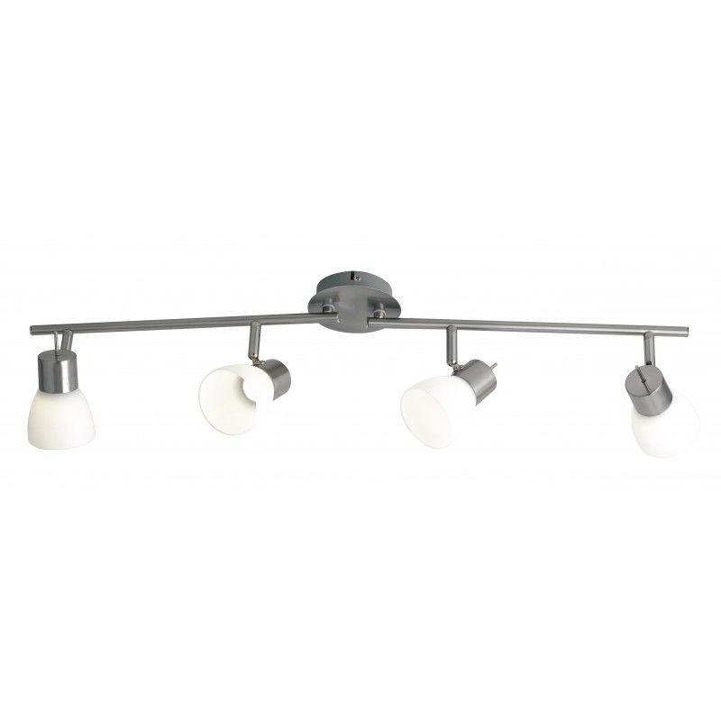 Plafoniera Spot Led Nickel