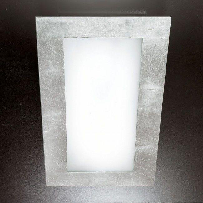 Plafoniera Argintiu Led