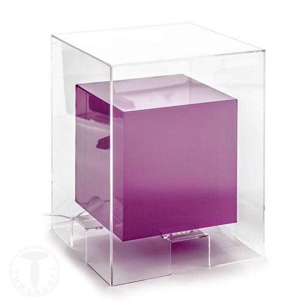 Masuta Cafea Luminoasa Space Purple